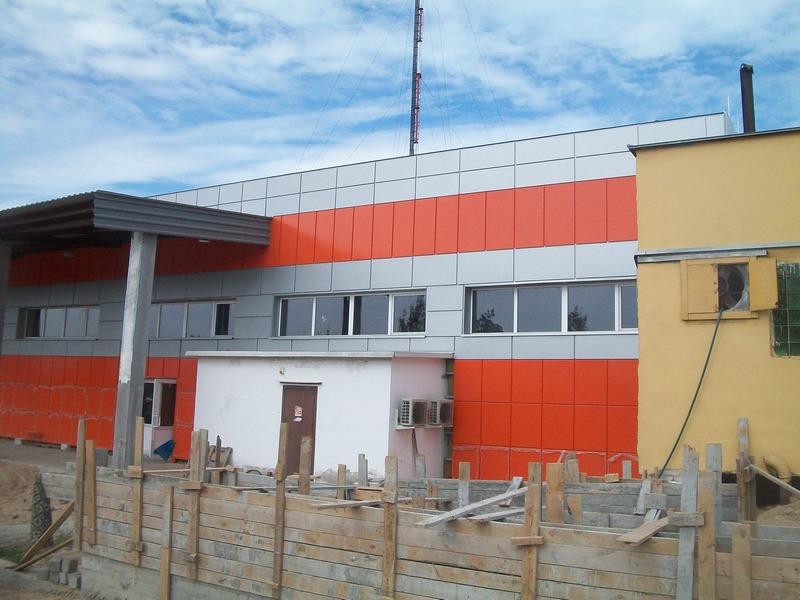 Строительство магазина стройматериалов